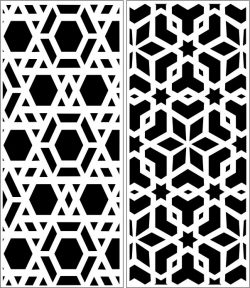 Design pattern panel screen E0006395 file cdr and dxf free vector download for Laser cut CNC