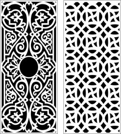 Design pattern panel screen E0006397 file cdr and dxf free vector download for Laser cut CNC