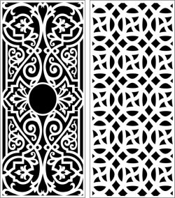 Design pattern panel screen E0006457 file cdr and dxf free vector download for Laser cut CNC