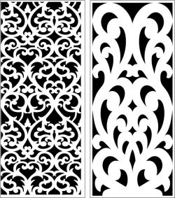 Design pattern panel screen E0006458 file cdr and dxf free vector download for Laser cut CNC