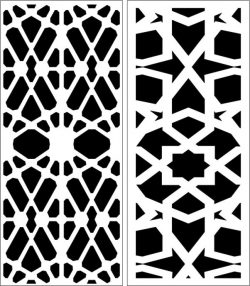 Design pattern panel screen E0006460 file cdr and dxf free vector download for Laser cut CNC
