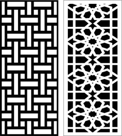 Design pattern panel screen E0006461 file cdr and dxf free vector download for Laser cut CNC