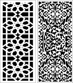 Design pattern panel screen E0006555 file cdr and dxf free vector download for Laser cut CNC