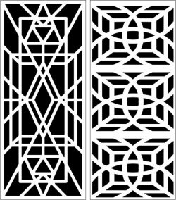 Design pattern panel screen E0006558 file cdr and dxf free vector download for Laser cut CNC