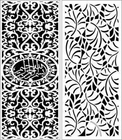 Design pattern panel screen E0006560 file cdr and dxf free vector download for Laser cut CNC