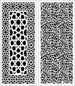 Design pattern panel screen E0006561 file cdr and dxf free vector download for Laser cut CNC