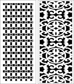 Design pattern panel screen E0006562 file cdr and dxf free vector download for Laser cut CNC