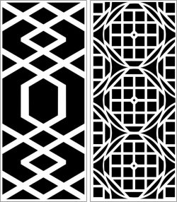 Design pattern panel screen E0006563 file cdr and dxf free vector download for Laser cut CNC