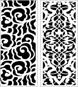 Design pattern panel screen E0006564 file cdr and dxf free vector download for Laser cut CNC