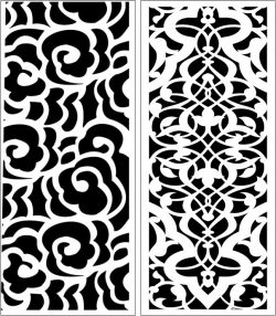 Design pattern panel screen E0006760 file cdr and dxf free vector download for Laser cut CNC