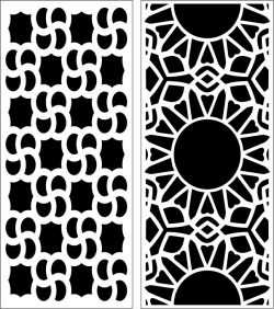 Design pattern panel screen E0006761 file cdr and dxf free vector download for Laser cut CNC