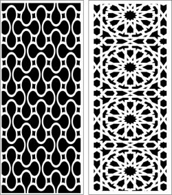 Design pattern panel screen E0006764 file cdr and dxf free vector download for Laser cut CNC
