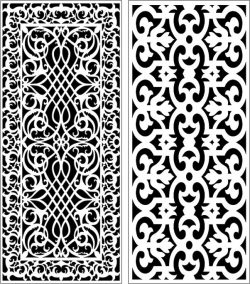 Design pattern panel screen E0006766 file cdr and dxf free vector download for Laser cut CNC