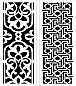 Design pattern panel screen E0006857 file cdr and dxf free vector download for Laser cut CNC