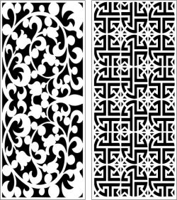 Design pattern panel screen E0006860 file cdr and dxf free vector download for Laser cut CNC