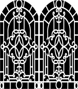 Design pattern woodcarving E0006157 file cdr and dxf free vector download for Laser cut CNC
