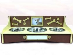Dog food bowl file cdr and dxf free vector download for Laser cut