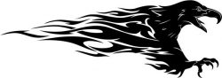 Eagle hunting file cdr and dxf free vector download for print or laser engraving machines