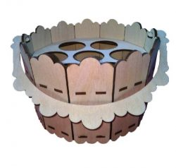 Easter bucket file cdr and dxf free vector download for Laser cut