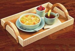Food Trays file cdr and dxf free vector download for Laser cut