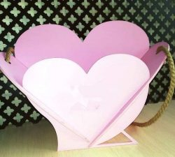 Heart basket model file cdr and dxf free vector download for Laser cut
