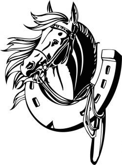 Horses and hooves file cdr and dxf free vector download for laser engraving machines