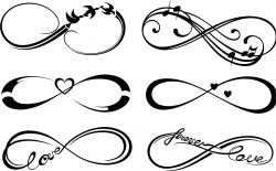 Infinity file cdr and dxf free vector download for laser engraving machines