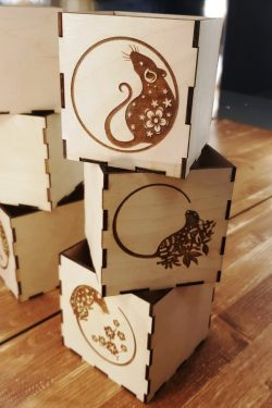 Mouse box file cdr and dxf free vector download for Laser cut