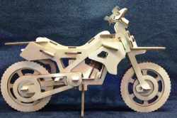 Plywood motorbike file cdr and dxf free vector download for Laser cut