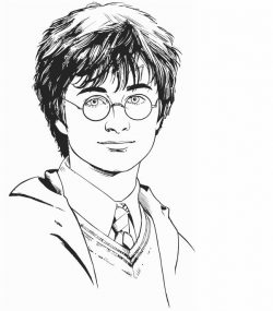 Portrait of Harry potter file cdr and dxf free vector download for print or laser engraving machines