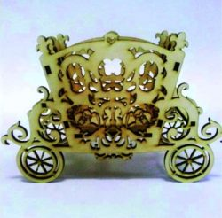 Royal Carriage file cdr and dxf free vector download for Laser cut CNC