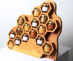 Shelf spice jars file cdr and dxf free vector download for Laser cut