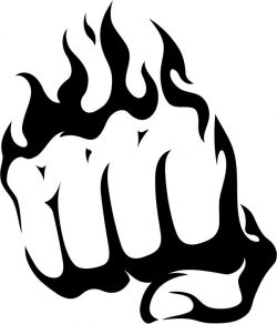 Steel fists file cdr and dxf free vector download for print or laser engraving machines