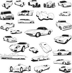 Supercar file cdr and dxf free vector download for laser engraving machines