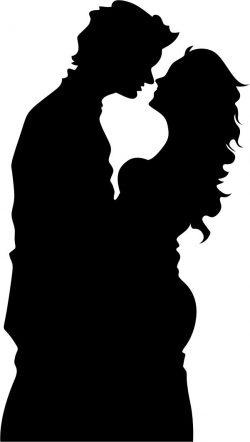 The couple kissed file cdr and dxf free vector download for Laser cut Plasma file Decal