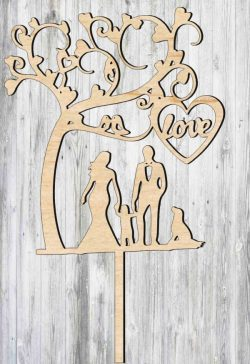 Topper family file cdr and dxf free vector download for Laser cut