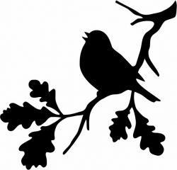 Weaverbird on tree branches   file cdr and dxf free vector download for print or laser engraving machines