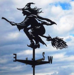 Witch weather vane file cdr and dxf free vector download for Laser cut Plasma