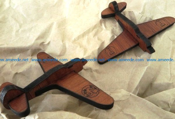 Wooden plane file cdr and dxf free vector download for Laser cut CNC