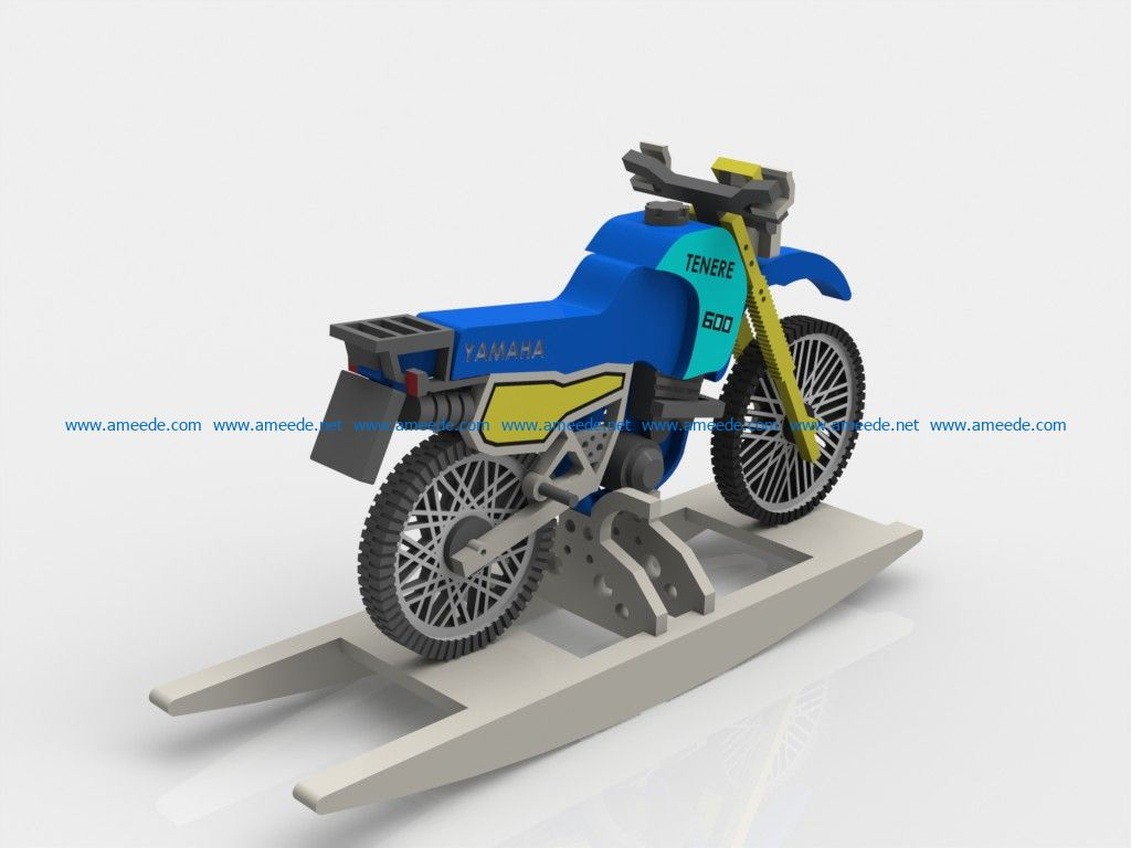 Yamaha motorcycles file cdr and dxf free vector download for Laser cut