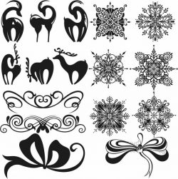 christmas assembly file cdr and dxf free vector download for Laser cut