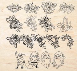 christmas decorations file cdr and dxf free vector download for laser engraving machines