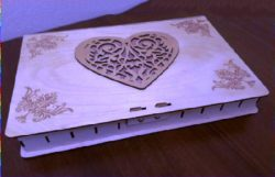 jewelry box file cdr and dxf free vector download for Laser cut