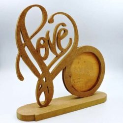 love frame file cdr and dxf free vector download for Laser cut