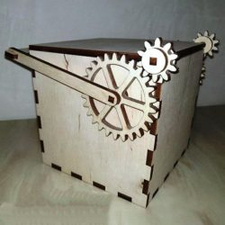 mechanical box file cdr and dxf free vector download for Laser cut