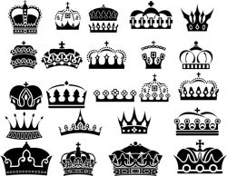 royal crown file cdr and dxf free vector download for Laser cut