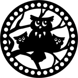 the owl halloween file cdr and dxf free vector download for print or laser engraving machines