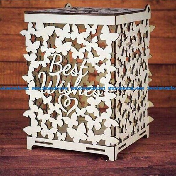 Butterfly engraving box file cdr and dxf free vector download for Laser cut