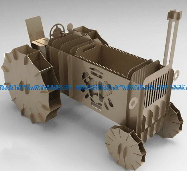 Agricultural machinery file cdr and dxf free vector download for Laser cut