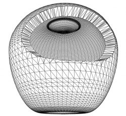 3D illusion led lamp honeycomb lamp free vector download for laser engraving machines